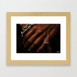 Hands #2 Framed Art Print