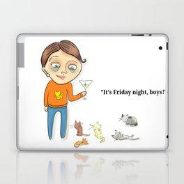 """It's Friday night, boys!"" Laptop & iPad Skin"