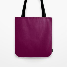 Tyrian purple - solid color Tote Bag