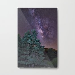 Milkyway at the mountains. Saggitarius and Rho Ophiuchus Metal Print