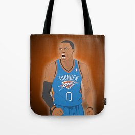 Oklahoma Thunder - Russell Westbrook Tote Bag