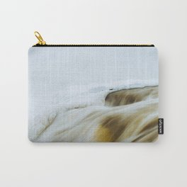Muskrat Falls in Winter  Carry-All Pouch