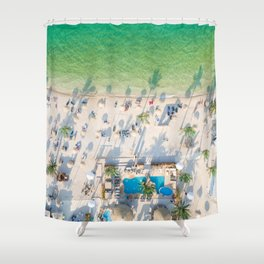 Pool Party Shower Curtain
