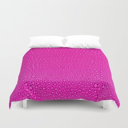 Wild Thing Hot Pink Leopard Print Duvet Cover