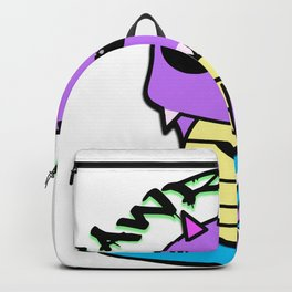 Muki the tired yami kawaii pastel dinosaur Backpack