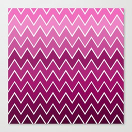 Pink See Saw Canvas Print
