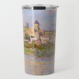 1879-Claude Monet-Vetheuil-60x81 Travel Mug