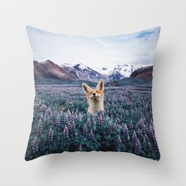 why do you love nature? Throw Pillow