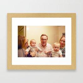 hooray for grandpa Framed Art Print