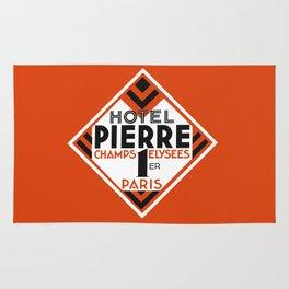 Hotel Pierre Paris Art Deco Rug
