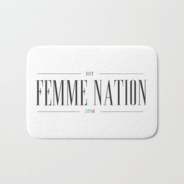 Femme Nation Bath Mat