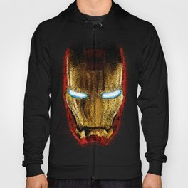 Iron Man Pointillism Hoody
