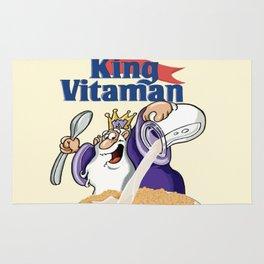 King Vitamins Rug