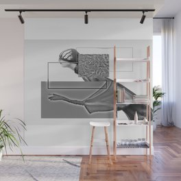 mad woman Wall Mural
