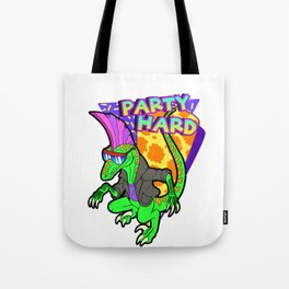Party Hard Dinosaur 3 - Tanzen Tote Bag