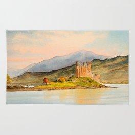Eilean Donan Castle Scotland Rug