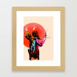 Eclectic Brothers Framed Art Print