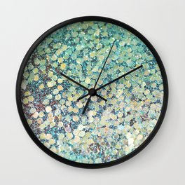 Mermaid Scales Wall Clock