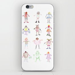LES DESSINS DE KARL iPhone Skin