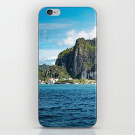 El Nido Town in Palawan iPhone Skin