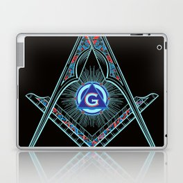 Freemason Symbol Laptop & iPad Skin