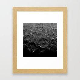 Ceres Surface Framed Art Print