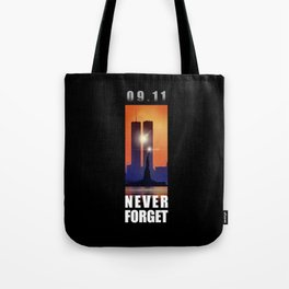 09,11 - September 11 attacks - New York - World Trade Center Tote Bag