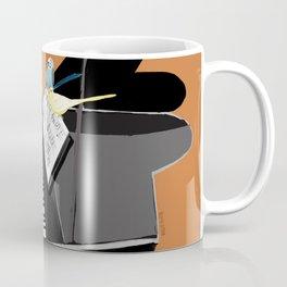 Piano lesson ( Doggy Art ) Coffee Mug