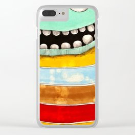 Geen Guy Clear iPhone Case