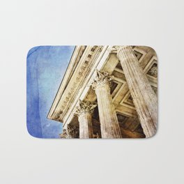 Ancient Roman Temple Bath Mat