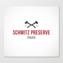 Schmitz Preserve Park Canvas Print