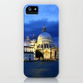 Lightning in Venice iPhone Case