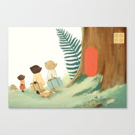 The Littlest Family Came to the Woods by Emily Winfield Martin Canvas Print