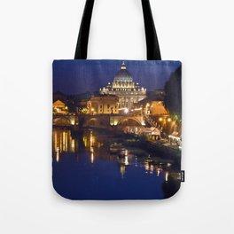 Sant Peter's Church in Rome Tote Bag