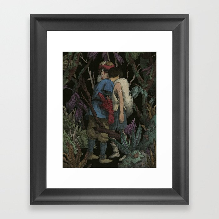 Delicieux Life Is Suffering. It Is Hard. The World Is Cursed. But Still, You Find  Reasons To Keep Living. Framed Art Print By Viasantamaria | Society6