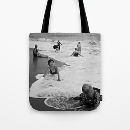 Bathing Woman in Vietnam - analog Tote Bag