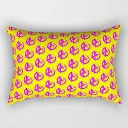 Anarchy Pattern Rectangular Pillow