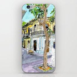 View from Parque Cristo, Habana Vieja, Cuba iPhone Skin