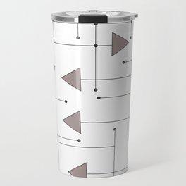Lines & Arrows Travel Mug