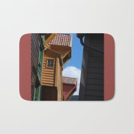 Rooftops and Sky Bath Mat