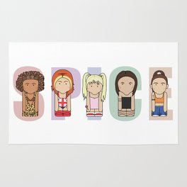 Spice Girls Rug