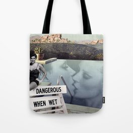 Pool with a View Tote Bag