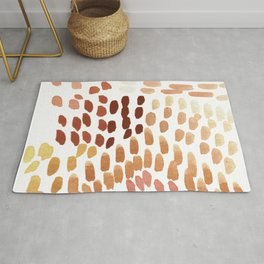 Colorful City Dots Rug