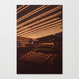 Night at the Theatre Canvas Print