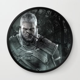 Geralt of Rivia - The Witcher 3 Wall Clock