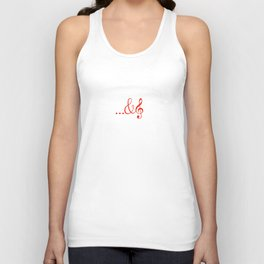 ...and music Unisex Tank Top