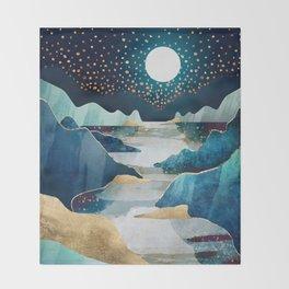 Moon Glow Throw Blanket