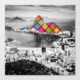 Funky Landmark - Rio Canvas Print
