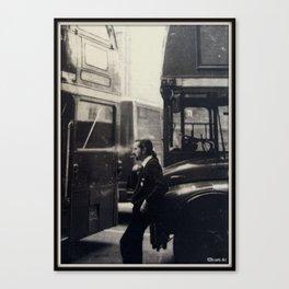 London Bus Driver. Canvas Print