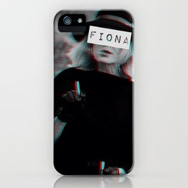 Fiona Goode & the Cig iPhone Case